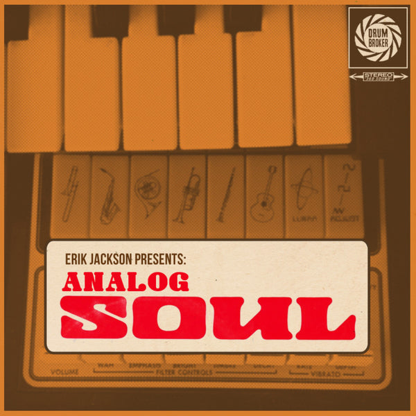 Erik Jackson Presents - The 'Analog Soul' Drum Kit