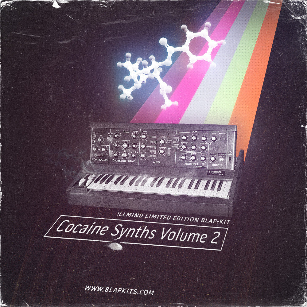 Special Limited Edition: Cocaine Synths Volume 2 (Digital Download)