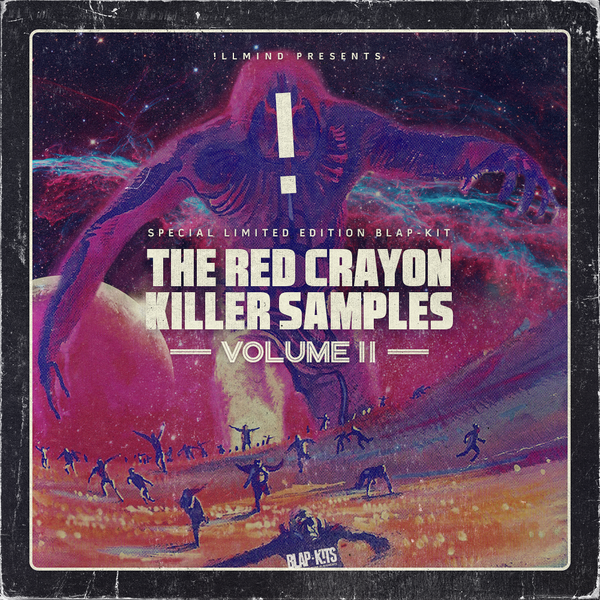 !llmind - The Red Crayon Killer Samples Vol. 2