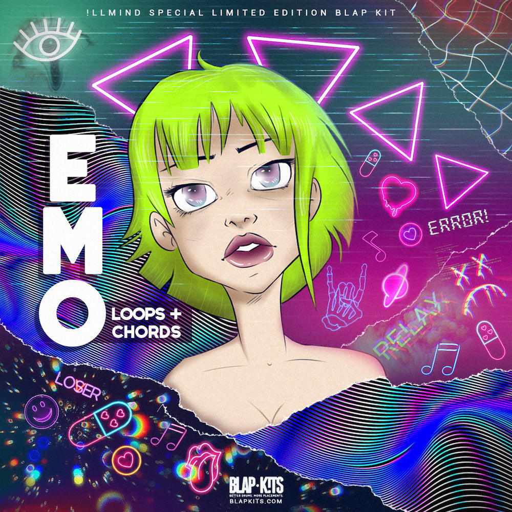 !llmind - EMO Loops & Chords Sample Pack