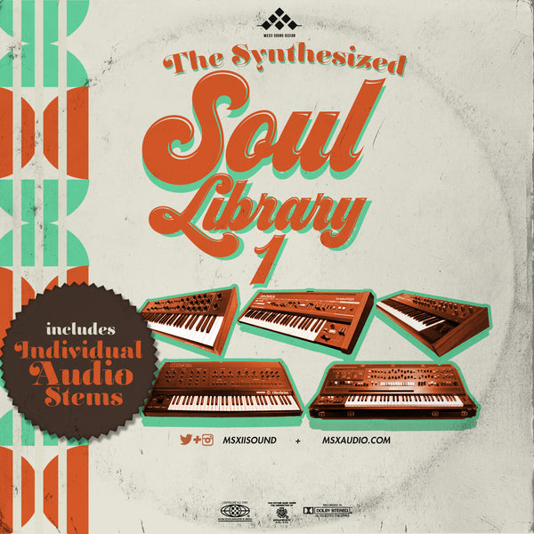 MSXII Sound Design - The Synthesized Soul Library Vol. 1