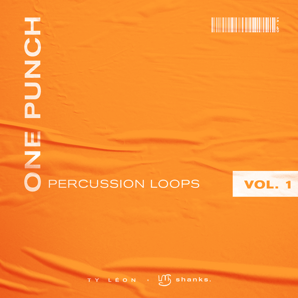 shanks. x Ty Léon - One Punch - Percussion Loops Vol. 1
