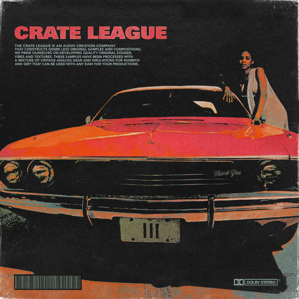 The Crate League - Thank You Vol. 3 (Sample Pack)
