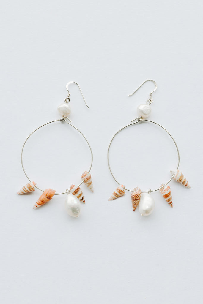 'BANA' HOOP EARRINGS - ARRIVING DEC