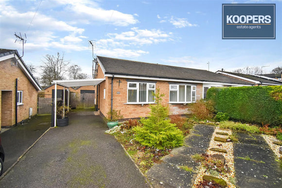 2 Bedroom Bungalow For Sale Leche Croft Belper DE56 0BB