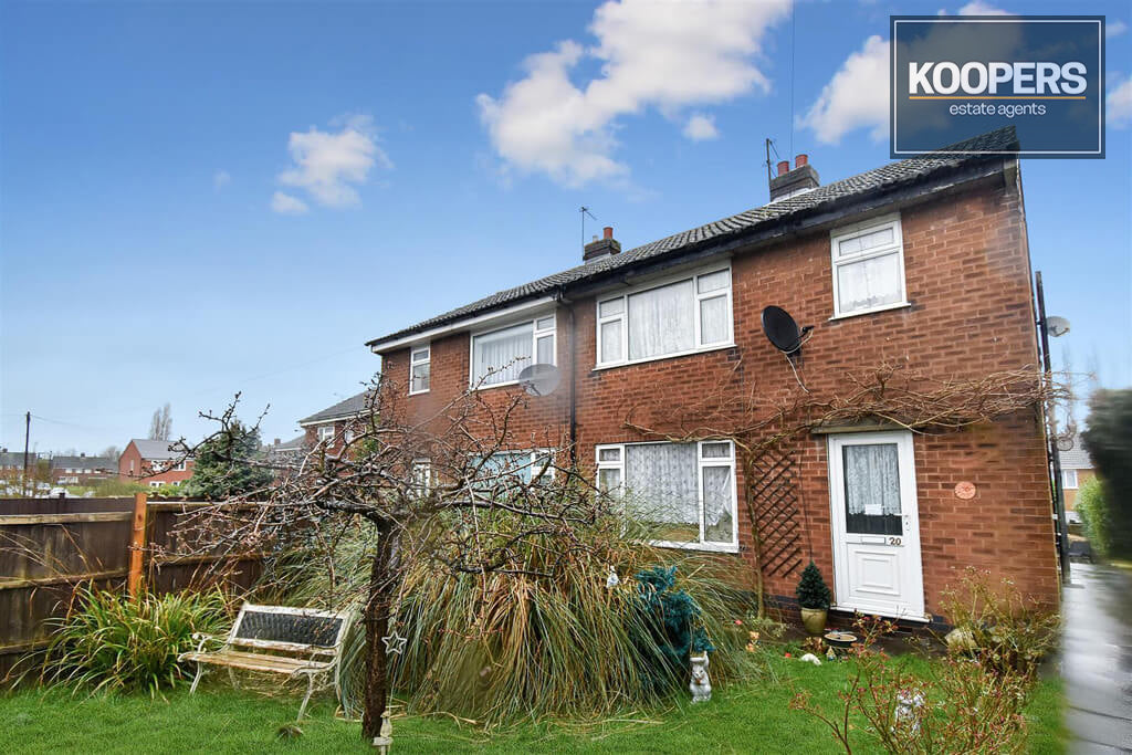 3 Bedroo House For Sale Cedar Avenue Alfreton DE55 7EU
