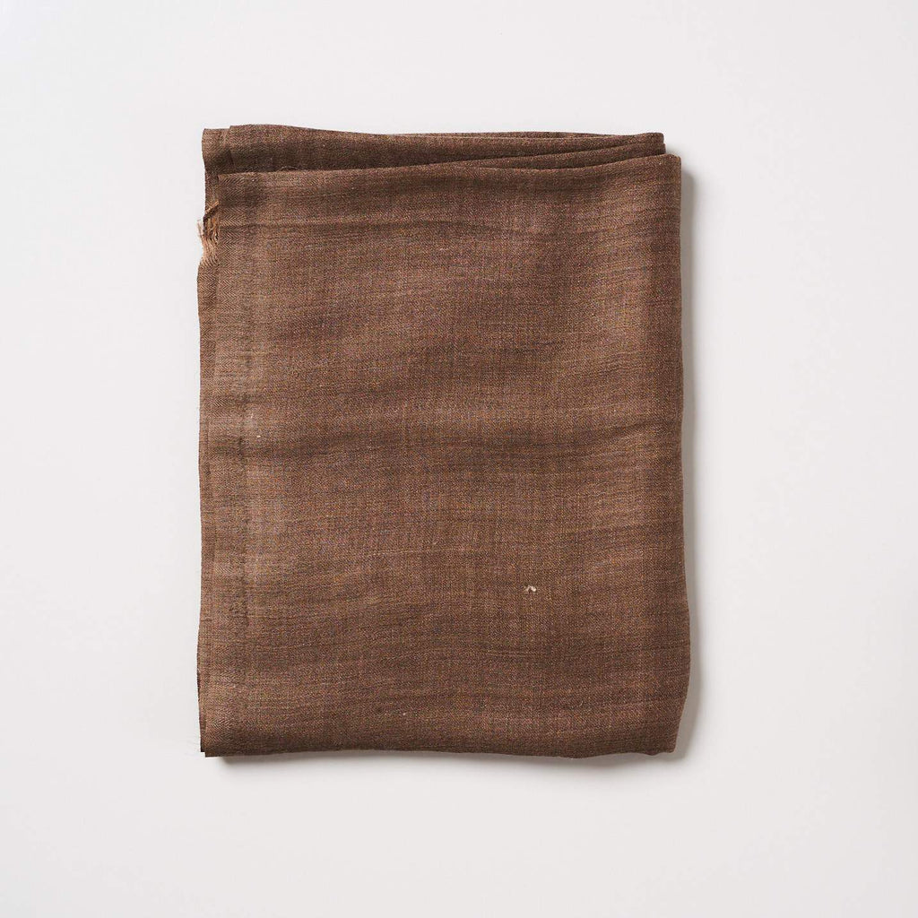 Cashmere Scarf Plain - Dark Brown