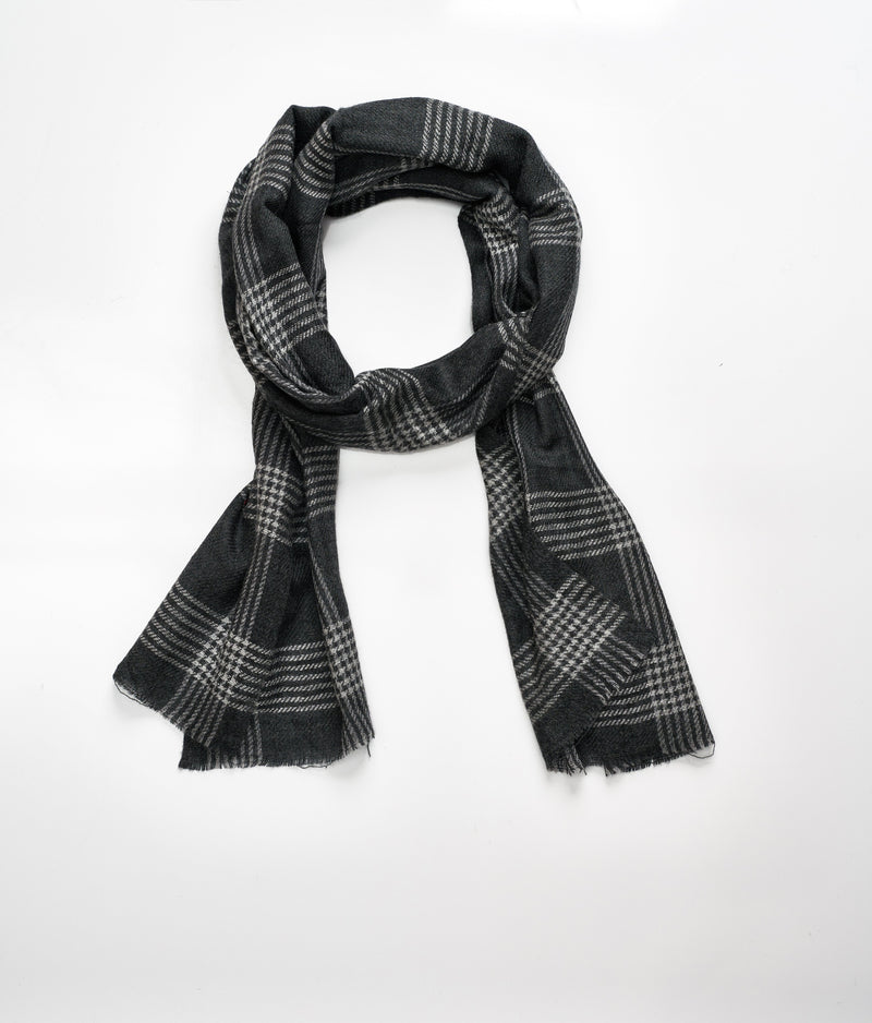 Men's cashmere scarf - Dark Grey