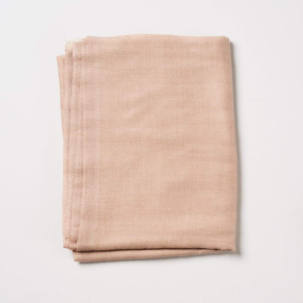 Cashmere Scarf Plain - Neutral