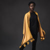 Viscose blend scarf - honey