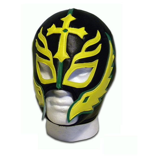 Son of devil black Mexican Luchador wrestling wrestler mask