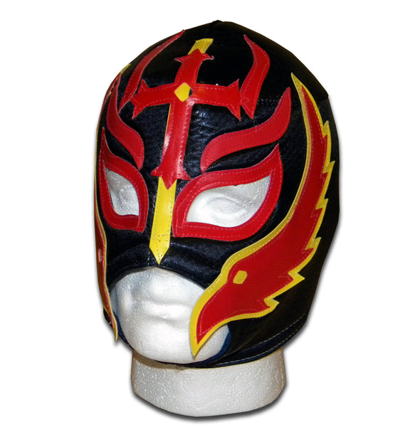 son of devil fire wrestler mask
