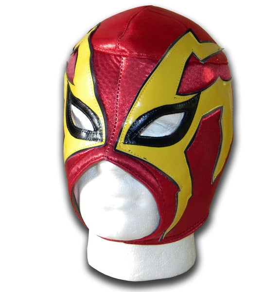 Shocker red wrestler mask