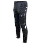 Ichnos black white padded protection football goalkeeper trousers pants adult size