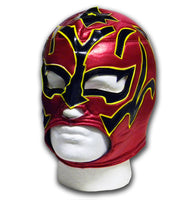 Red Shooting star mexican wrestler wrestling mask