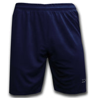 Ichnos team football shorts senior navy blue