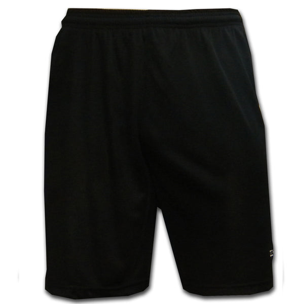 black team kit football shorts