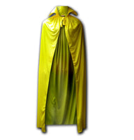 Luchadora Mexican Lucha Libre Wrestling Adult Yellow Cape