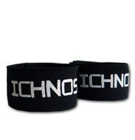Ichnos black shin guard stays