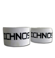 Ichnos white adult size shin guard holders stays