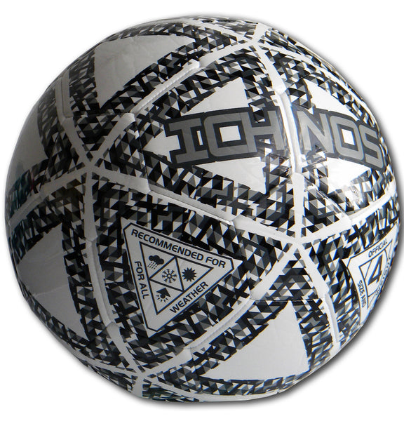 ichnos thaima black white grey monochrome low bounce futsal football ball