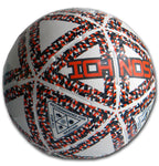 Ichnos Thaima white orange blue futsal five a side low bounce ball