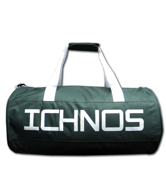 Ichnos dark green duffle bag