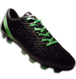 Ichnos Labrys Firm Ground football boots senior Black Lime