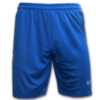 Ichnos polyester team kit football blue shorts