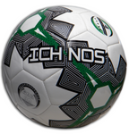 ichnos temari white green black low bounce futsal football ball