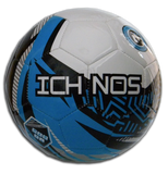 Ichnos white blue black kids junior children size football ball