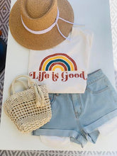 Load image into Gallery viewer, Life Is Good Tee