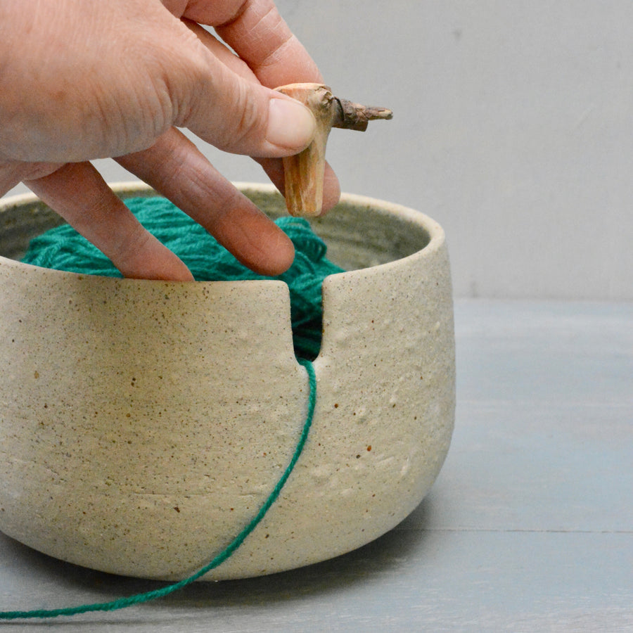 Yarnbowl - Recycled stoneware - Nr.1