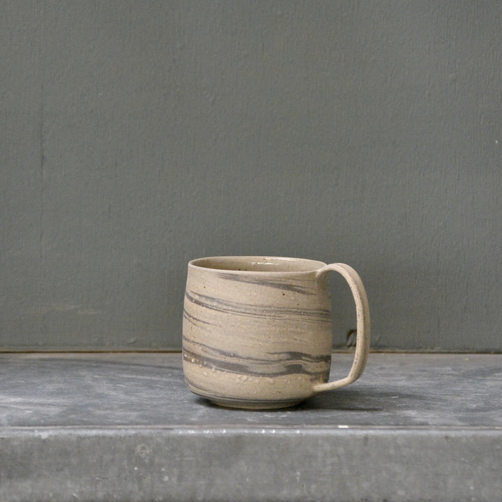Lazy & Relax mug in Reclaimed & Recycled anthrazite marble