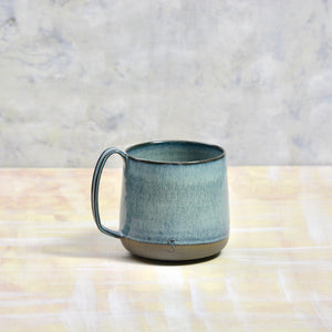 XXL Lazy & Relax mug in Antharzite & Deep water glaze -  500ml. (16,9 Fl.Oz.)