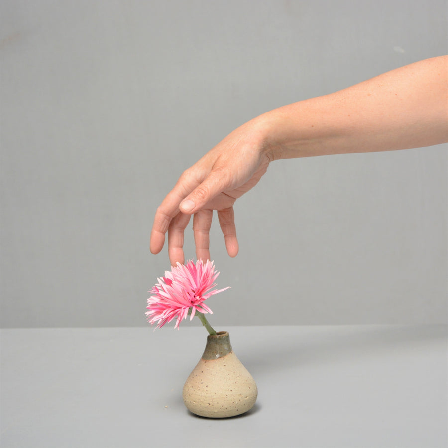 Tiny recycle vase - one of the tiniest vases.