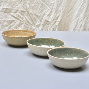 Recycled N&S - granola bowls - medium size.