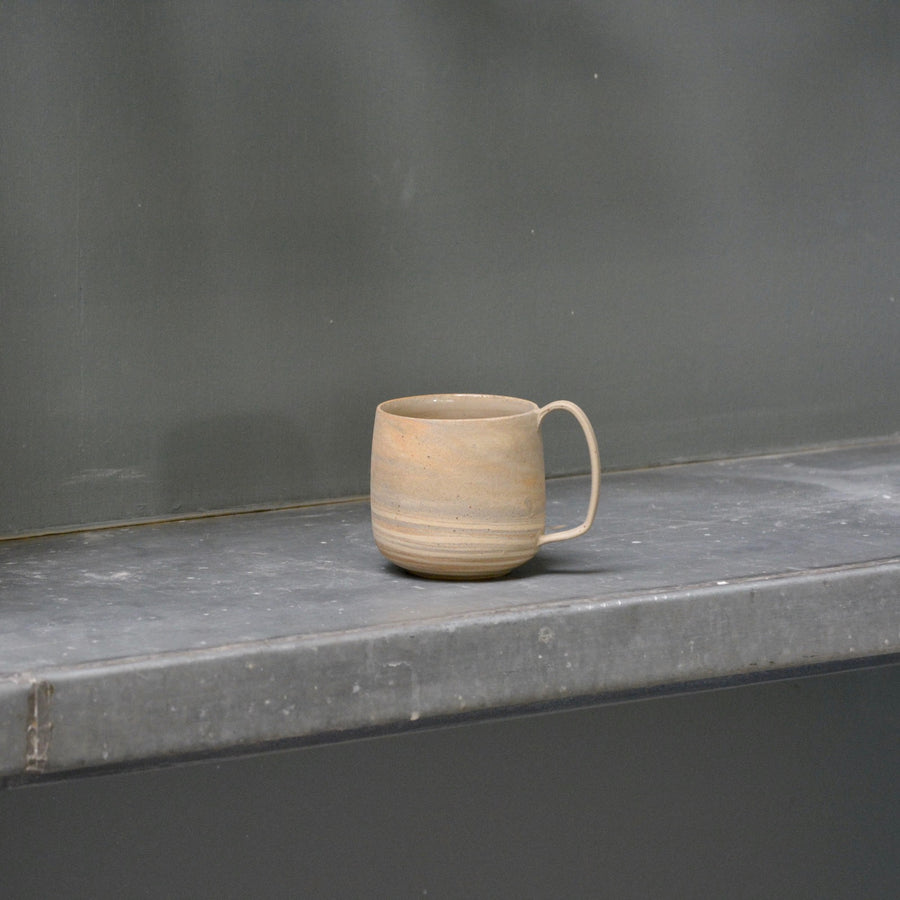 Lazy & Relax mug in Reclaimed & Recycled stone ware Nr. 1