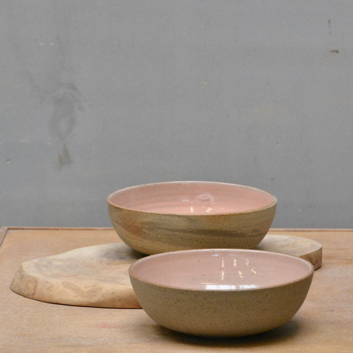 Recycled N&S - Granola & more bowls - in our sweet pink.