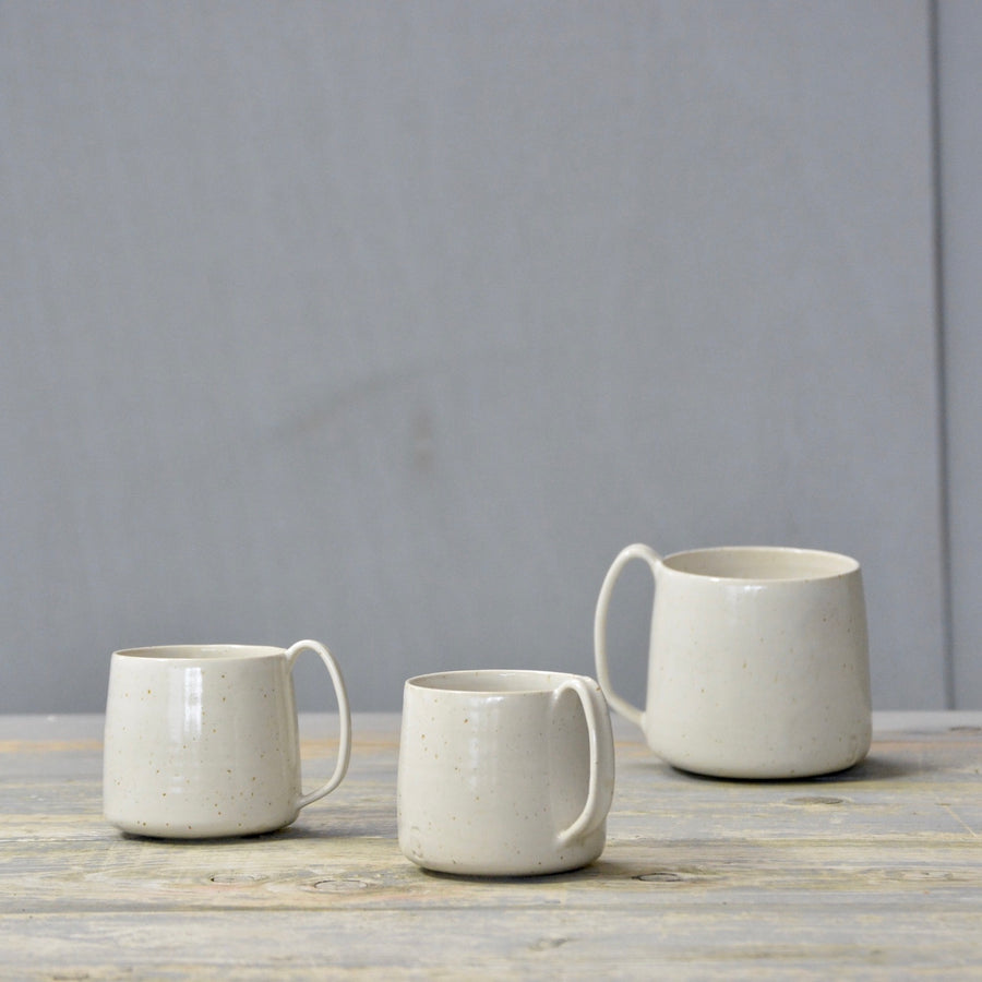 We've Spotted You - Lazy & Relax mug - White gloss all over.