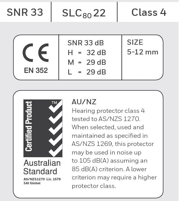 SNR SLC80 Label Examples