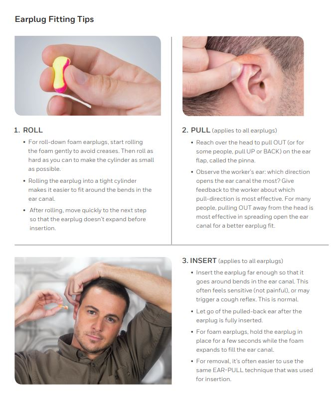 Earplug Fitting Tips
