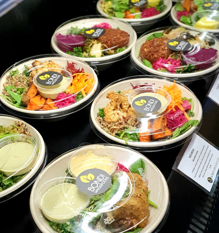 SALADS & WELLNESS BOWLS