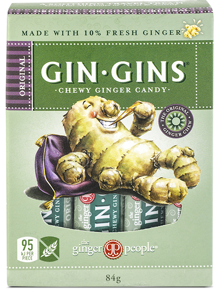 Gin Gins Original Ginger Chewy Candy 84g