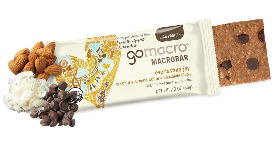 Go Macro Bar Coconut + Almond Butter + Choc Chips