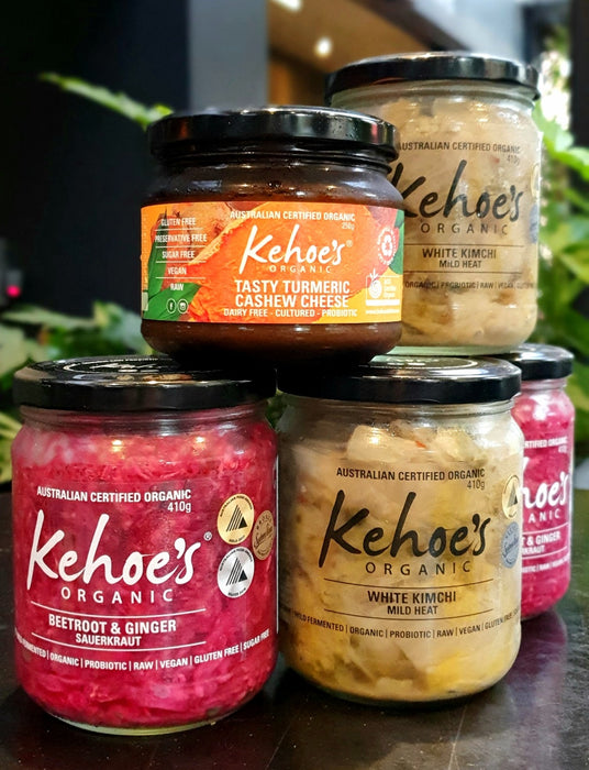Kehoe's Fermented Veggies - Beetroot & Ginger 410g