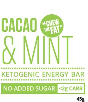 Cacao & Mint Ketogenic Energy Bar