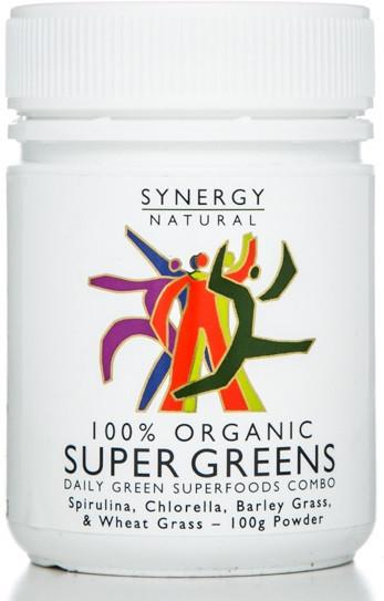 Super Greens Powder 100g Synergy Natural