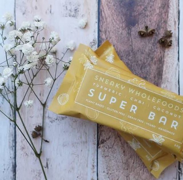 Turmeric Chai Coconut Super Bar 60g Sneaky Wholefoods