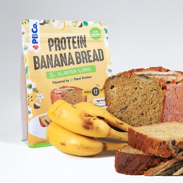 Vegan Plant Based Protein Banana Bread (340g)